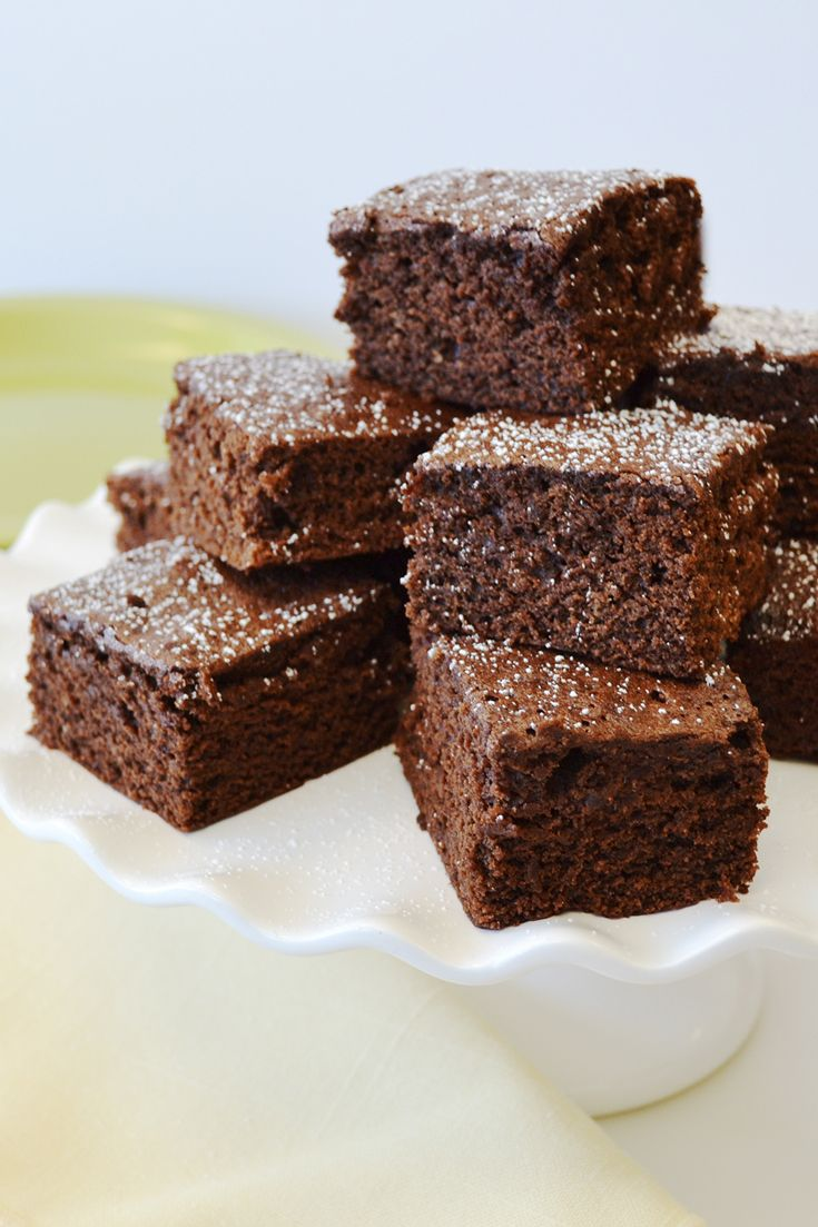 The ultimate recipe for perfect, cake-like brownies. Add flavoring, stir-ins or toppings to make them your own.