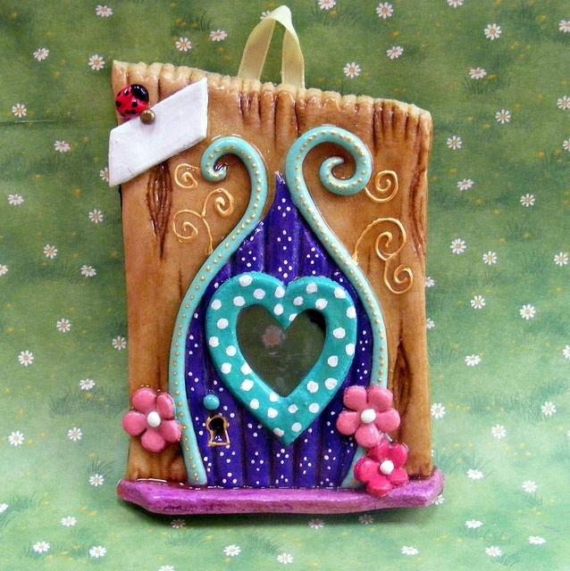 Heart Fairy Door by Christine Salt of the Earth, via Flickr