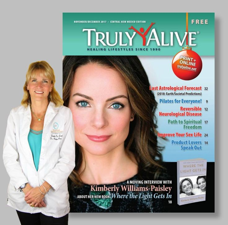 I'm thrilled to have articles in TRULY ALIVE MAGAZINE on regenerative medicine, the healing power of IV Therapies, curing pain with Prolozone, youthful aging & more!  Read them here: