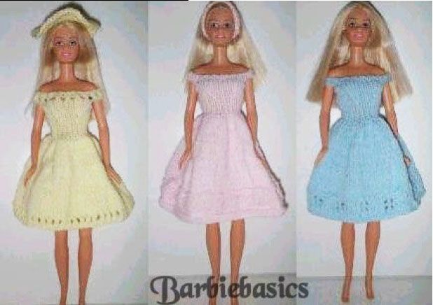 Barbie Basics Knitting Patterns : Best images about barbie clothing and accessories