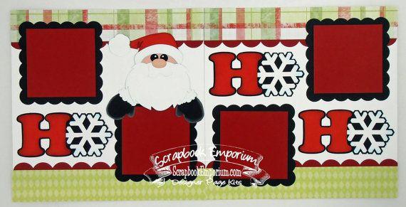 Christmas Santa Ho Ho Ho Boy Girl Baby 2 by TheScrapbookEmporium, $10.00