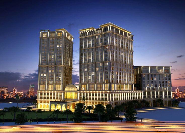Classic style 5 star hotel design architecture dubai