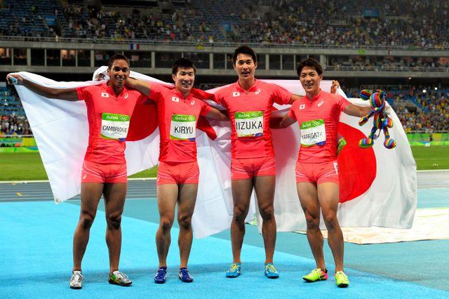 日本が史上最高の銀、ボルト3冠達成 男子400リレー #リオ五輪 #陸上