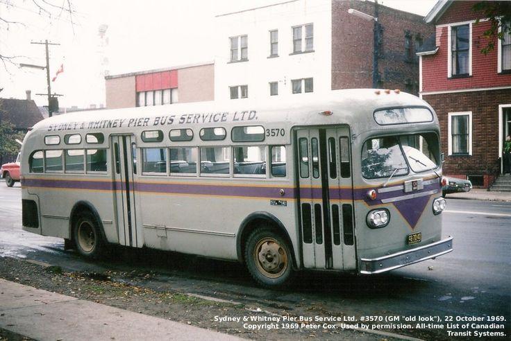Sydney and Whitney Pier Bus Service-Sydney-Cape Breton-1969 | Photographs And Memories of Cape Breton_Cape Breton Nova Scotia