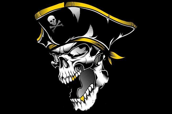 Skull Skull And Crossbones Piracy Human Skull Symbolism Skull And Bones Png Skull And Crossbones Bone Drawing Hum Pirate Images Human Skull Pirate Skull