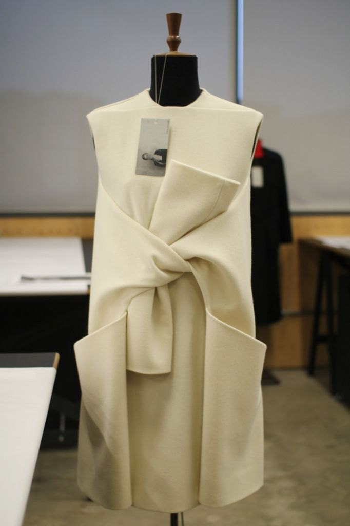 Innovative Pattern Cutting for Graduates and Professionals: the Class of 2013