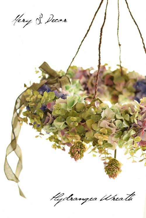 フライングリース 紫陽花