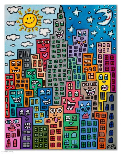 All works | James Rizzi