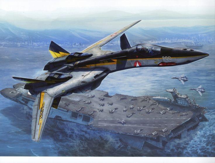 Macross, Valkyrie (YF-19), by tenjin hidetaka