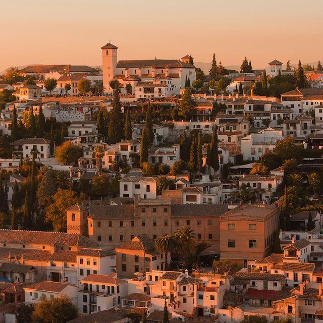 Sunset in Granada, Spain (by Anton Tkachenko)