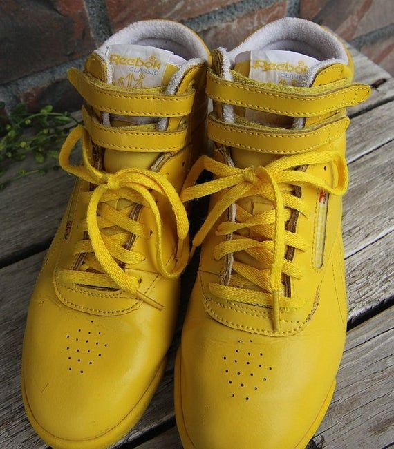 80's Reebok Freestyle Classic High-Tops