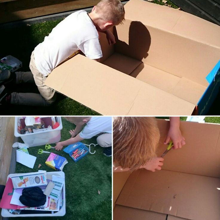 Wat maak jij van een doos?