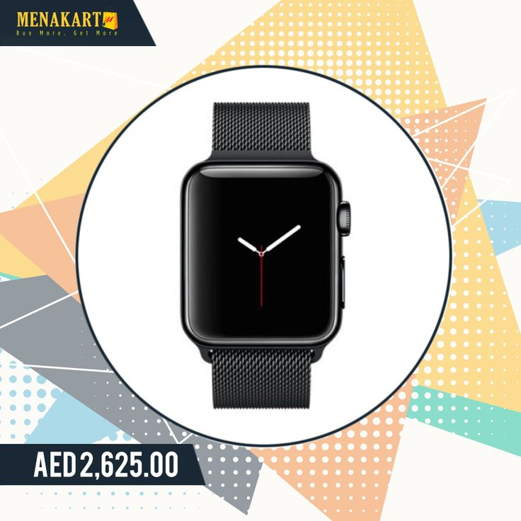 Apple MMFD2 38mm Stainless Steel Case with Marigold Modern Buckle Small Size Band #apple #watch #smartwatches #online #stainless #steel #shopping #menakart