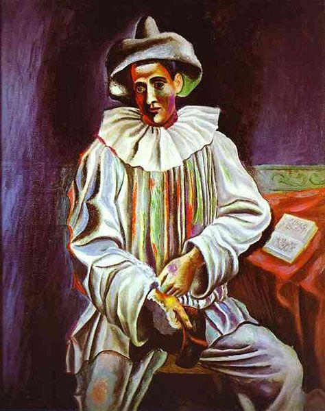 Pablo Picasso - Pierrot - 1918