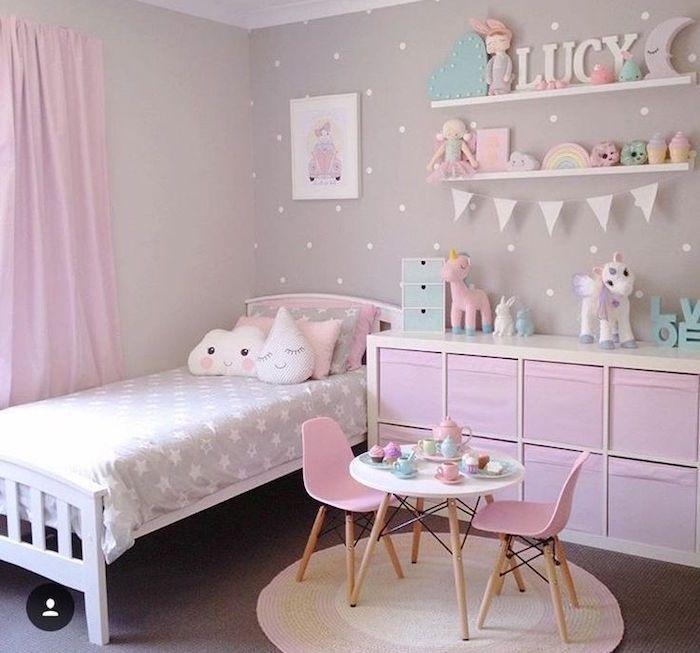 Chambre petite fille – dans le domaine de sa Majesté | chambre ...