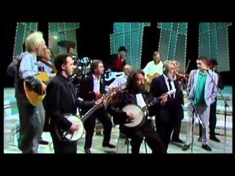 ronnie drew the dubliners & the pogues   irish rover late late show RTE ...