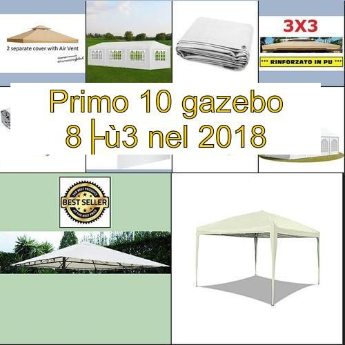 La Top 10 Gazebo 3x5 Nel 2020 Gazebo Cover