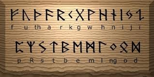 The Norse Alphabet. AWESOME! I'm definitely doing this. :)