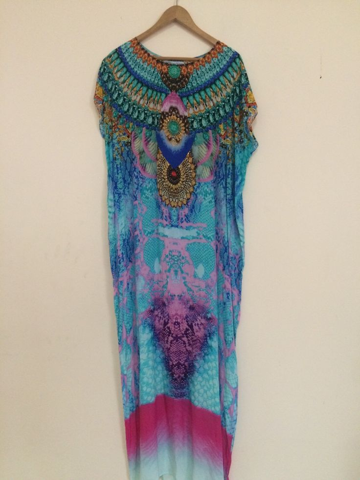 A personal favourite from my Etsy shop https://www.etsy.com/au/listing/251530174/long-embellished-kaftan