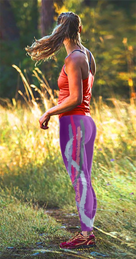 Active life is better spent in color! Don't go bland on your leggings brand. Try the Twisted whiskers collection.