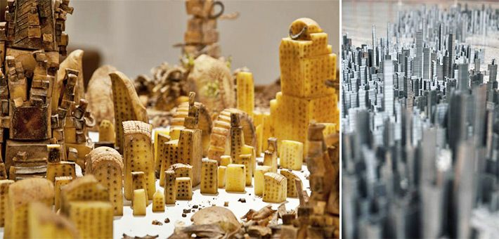 Οι εκπληκτικές, μικροσκοπικές πόλεις του Peter Root