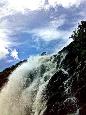Barachukki Waterfalls , India