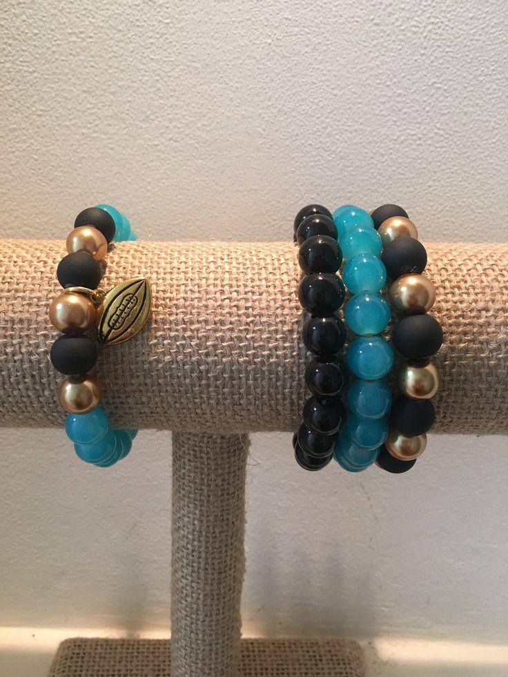 Jaguars Football Bracelets