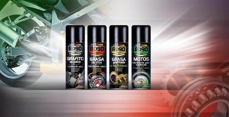 familia RD90: grafito en polvo, grasa de litio, grasa grafitada, lubricante para cadenas de motos
