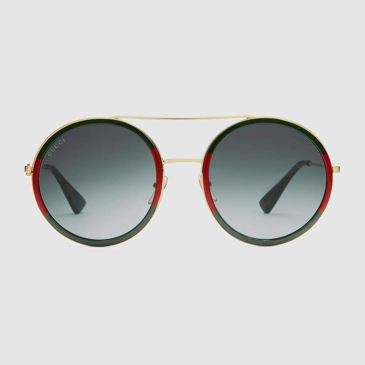 Round Frame Sunglasses Gafas Gucci Lentes Gucci Gafas De Sol Gucci