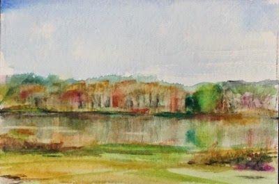 Studio Melle: Spring start at Crabtree Lake