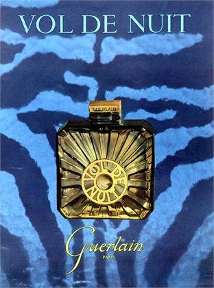 Vol de Nuit ...devine, dark & airy scent, deep blue-purple, mysterious & adventurous.  ..btl