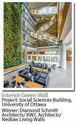 University Of Ottawa Sustainability Education Urban Farming Living Walls Green Roofs Social Science Vertical Gardens Office Spaces