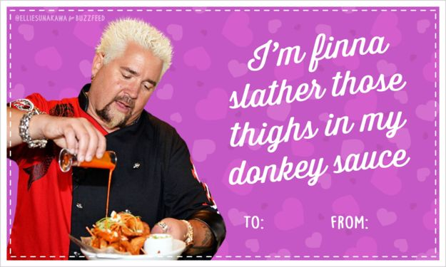 10 Guy Fieri Valentines Guaranteed To Get You Some Triple D