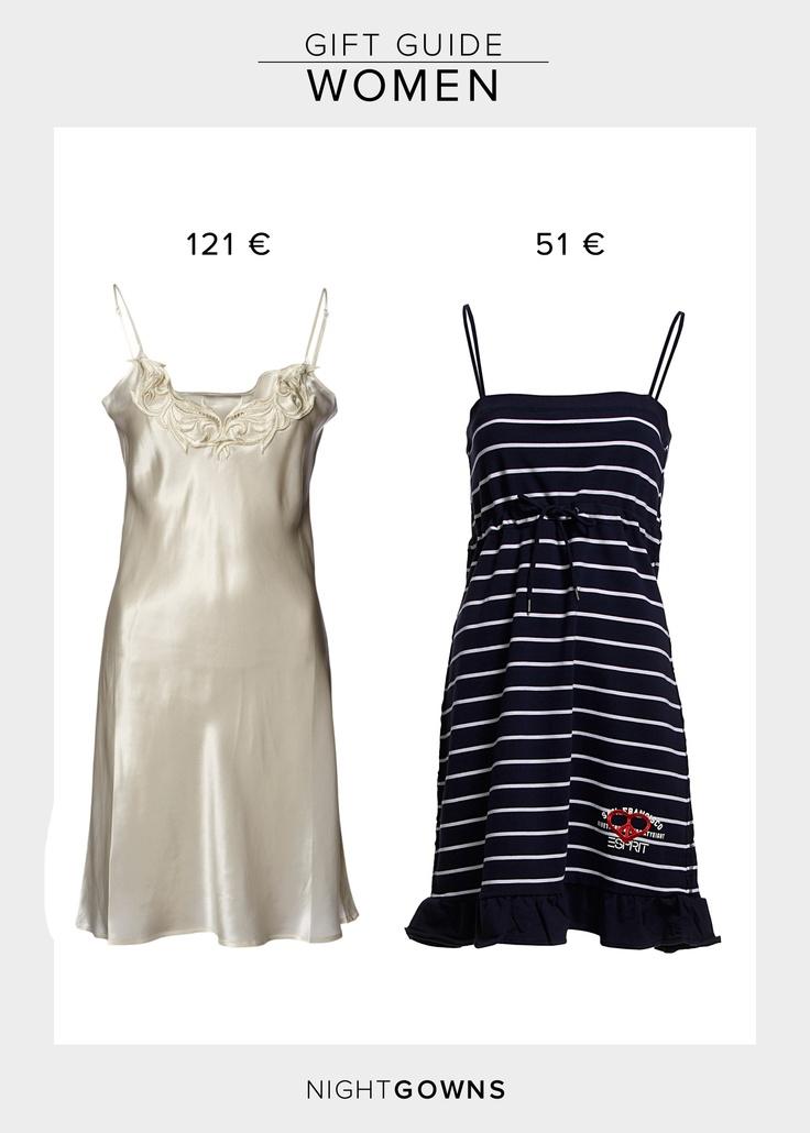 Munthe Plus Simonsen Milly Nightgown  121.00 €  http://www.boozt.com/r/munthe-plus-simonsen/milly_791310/791311    Esprit Bodywear Nightgown  50.95 €  http://www.boozt.com/r/esprit-bodywear-women/chemise_921040/921041