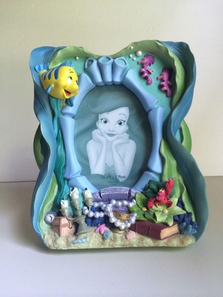 Disney Store Ariel Little Mermaid 3d Ceramic Picture