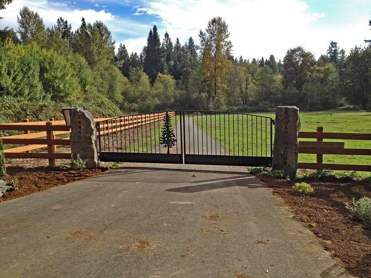 As melhores ideias de driveway security gates no pinterest