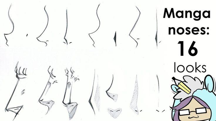 How to Draw Manga Nose