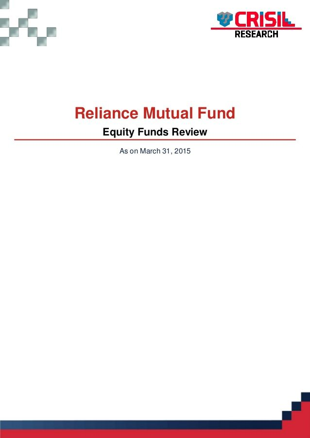Crisil report on RMF #equityfund performance