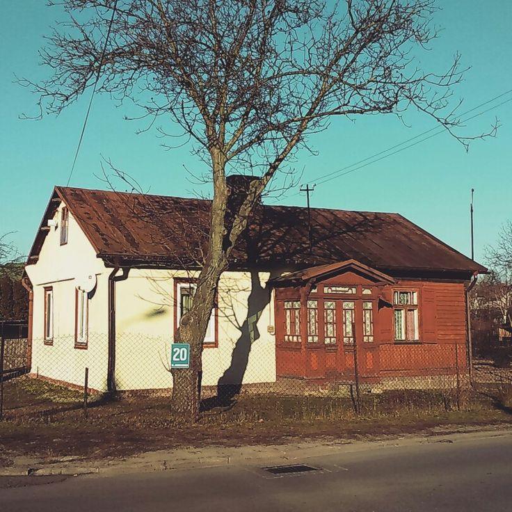 Budynek przy ulicy Henryka Sienkiewicza w Łukowie.