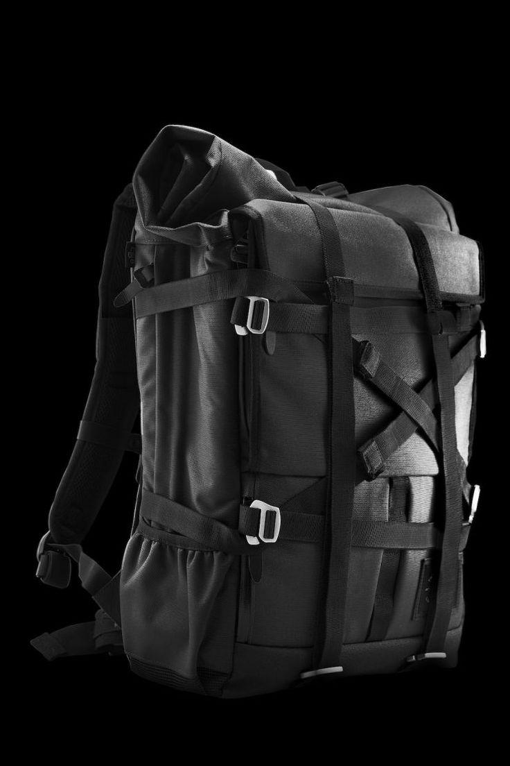 The Peloton Asphalt Motorcycle Backpack
