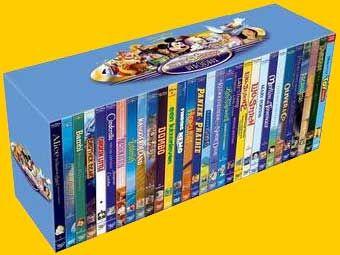 30 DVD Disney dans un coffret - Les News de DVDpasCher