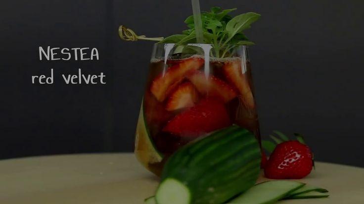 NESTEA Red Velvet  - Recipe by Simos Tagaras for Nestle GR