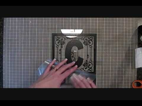 Best tutorial to transfer Vinyl to glass or tiles! !:)