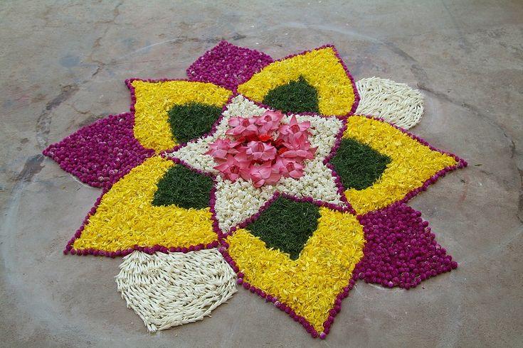 Foto gratis: Flor Rangoli, Arte Popular, India - Imagen gratis en ...
