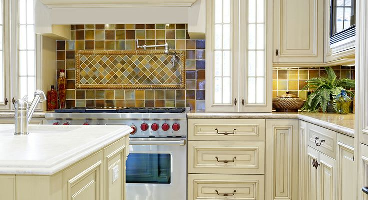 Home Depot Holden Bronze Glaze Cabinets For Cottage Style