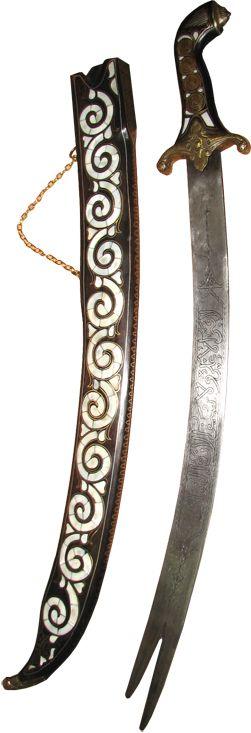 Osmanlı El Sanatları, Sedefli Kılıçlar, Sedef İşlemeli Kılıçlar, Sedef İşlemeli…