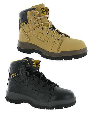 Mens cat #caterpillar dimen leather #steel toe cap #safety work boots size 6-13 u,  View more on the LINK: 	http://www.zeppy.io/product/gb/2/370922233217/