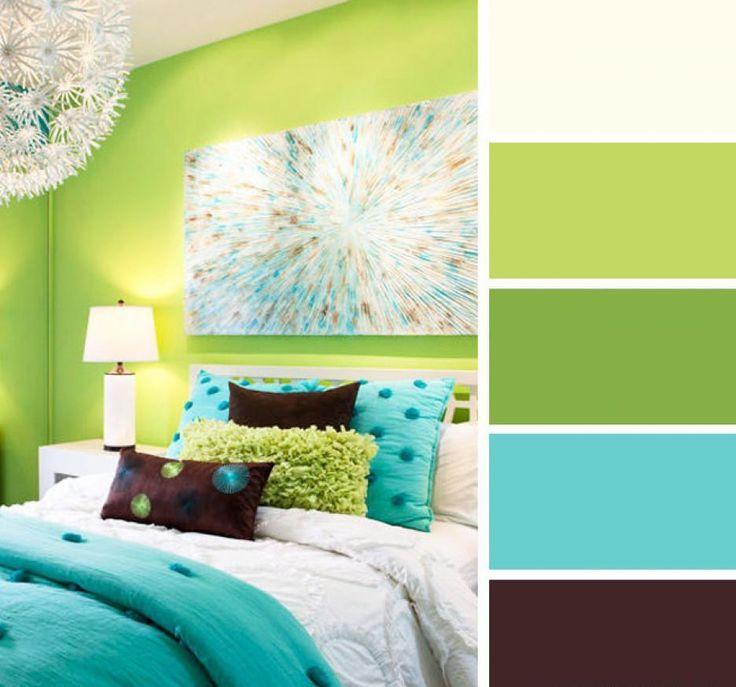 Las 25 mejores ideas sobre Habitaciones De Color Verde ...