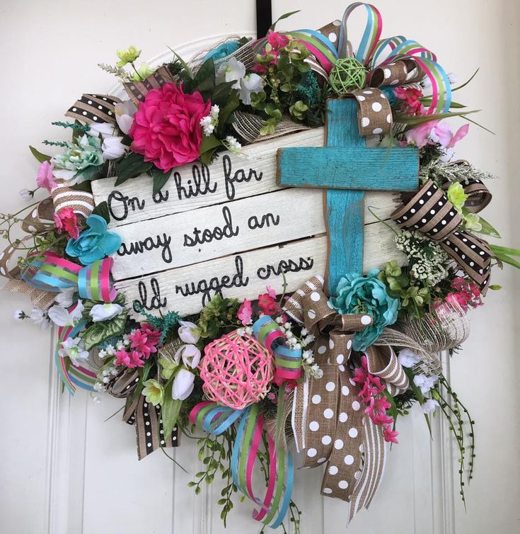 Wreath Home Decor Door Decoration Front By