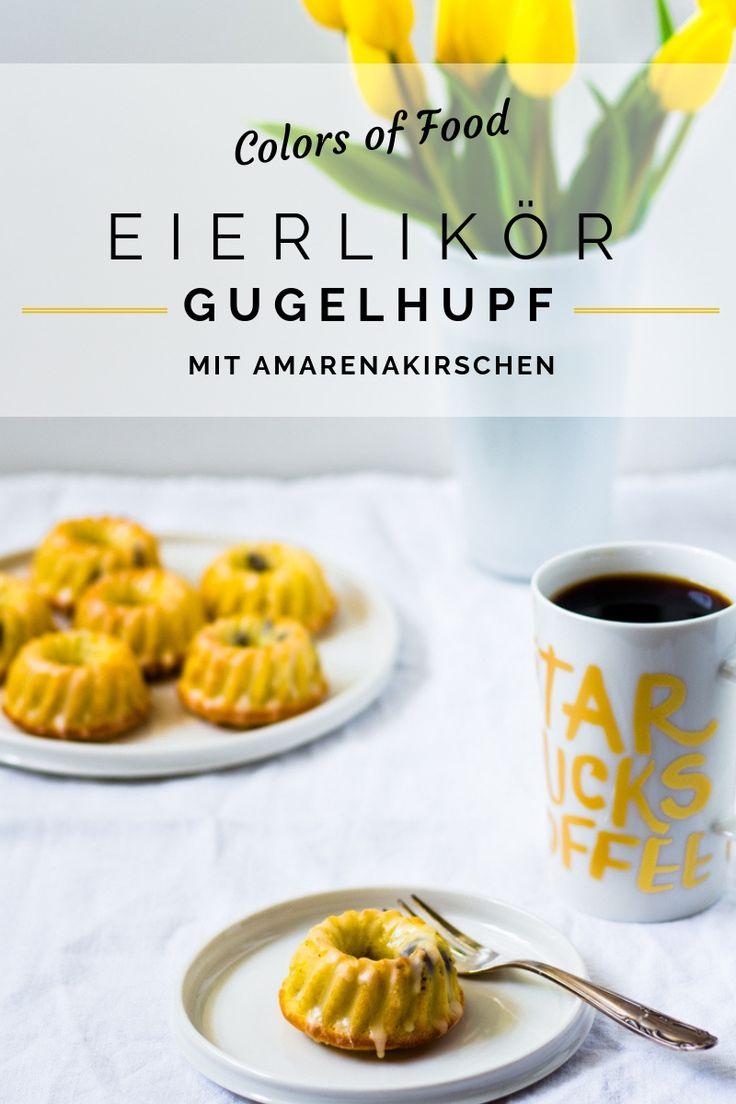 Mini Eierlikör-Gugelhupfe mit Amarenakirschen – Colors of Food